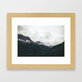 Mountain Valley Framed Art Print