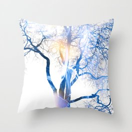 Tree Of Illusions Throw Pillow