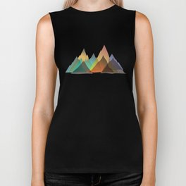 Mountains Biker Tank