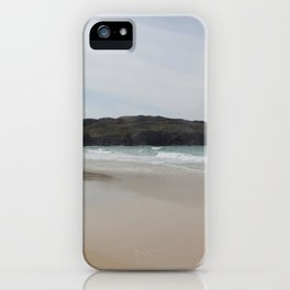 Beach 2 Lewis and Harris 1 iPhone Case