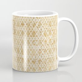 Maize Trellis Pattern Coffee Mug
