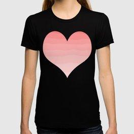 Grapefruit Blush Gradient Ombre T-shirt