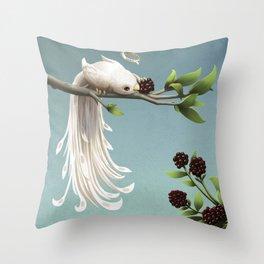 Countess of the Bramble Throw Pillow