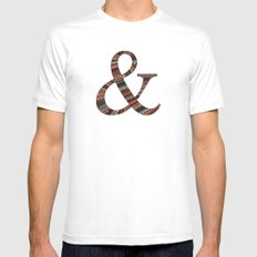 Together White Mens Fitted Tee MEDIUM