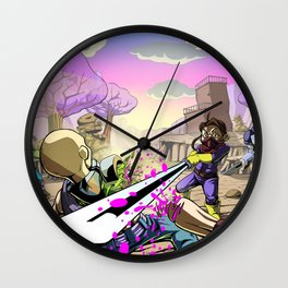 The Outlands Wall Clock