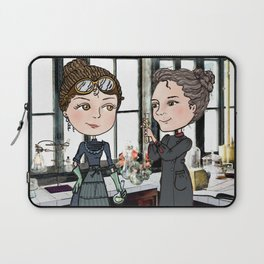 Woman in Science: The Curies Laptop Sleeve
