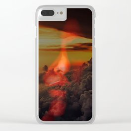 Lisa Marie Basile, No. 72 Clear iPhone Case