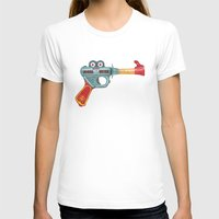 gun T-shirts featuring Gun Toy by Florent Bodart / Speakerine