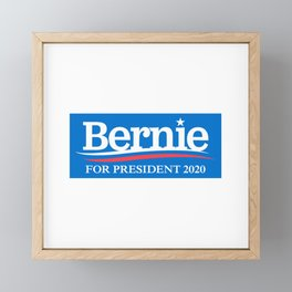 BERNIE SANDERS FOR PRESIDENT 2020 Framed Mini Art Print