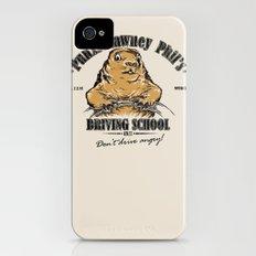Punxsutawney Phil's Driving School iPhone (4, 4s) Slim Case