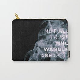 Smoke Quote Carry-All Pouch