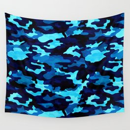 9f151c9fae68e Camouflage (Blue) Wall Tapestry