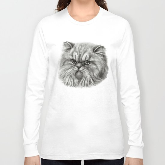 Persian Cat SK072 Long Sleeve T-shirt