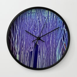 Icicles of Art Wall Clock