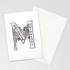 M is for Stationery Cards