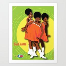 The Marvelettes Subway Soul Art Print