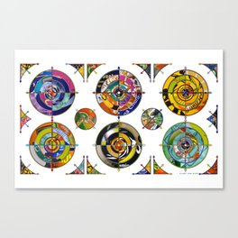 Targeted 01 Canvas Print