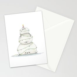 A very sealy Christmas tree Stationery Cards