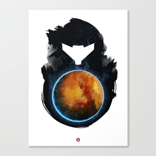 Metroid Prime Canvas Print