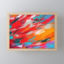 Colorful Abstract Framed Mini Art Print