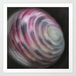 Nerita versicolor (mollusk shell) Art Print