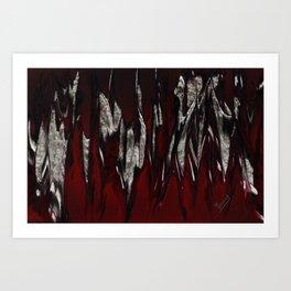 Raging Red Art Print