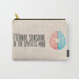 Eternal Sunshine of the Spotless Mind - Alternative Movie Poster Carry-All Pouch