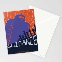 Robots for Guidance Stationery Cards