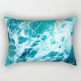 Out there in the Ocean Rectangular Pillow