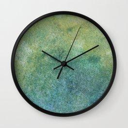 Pastel Abstract Watercolor Painting Wall Clock