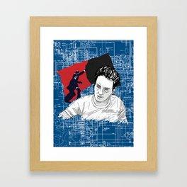 Joe Strummer: Sandinista/The Clash Framed Art Print