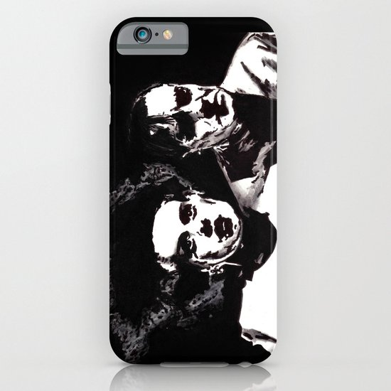 Dr Frankenstein and the Bride of the Monster iPhone & iPod Case