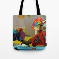 cleveland Tote Bags featuring Cleveland Rocks by Nevermind the Camera