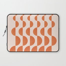 Abstraction_ROUND_WAVES_Minimalism_001 Laptop Sleeve