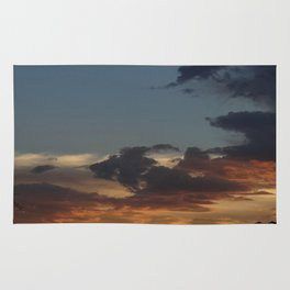 Sunset in the Valley Rug