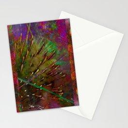 Pyrotechnic Pattern Stationery Cards