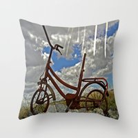 amelie Throw Pillows featuring Amelie by Joe Pansa