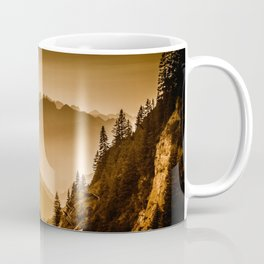 Arlberg Pass Mountain Landscape Coffee Mug