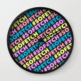 #SOFETCH Wall Clock