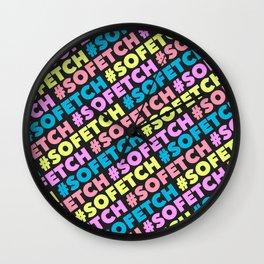 #SOFETCH Wall Clock