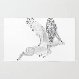 Combinations #7 - Antelope / Owl (FINAL) Rug