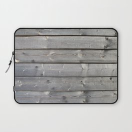 old wooden planks background Laptop Sleeve