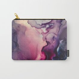 Mission Fusion - Mixed Media Painting Carry-All Pouch