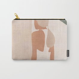 Abstract Woman in a Dress Carry-All Pouch