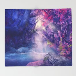 landscape Throw Blanket