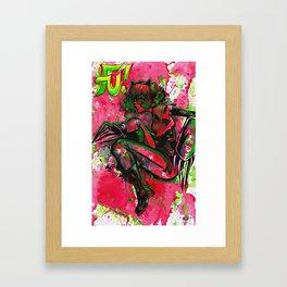 FU! issue 0.1 Cover Framed Art Print