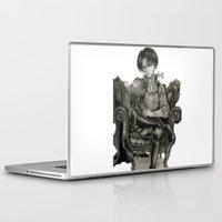 levi Laptop & iPad Skins featuring Levi Ackerman by OtakuRuki
