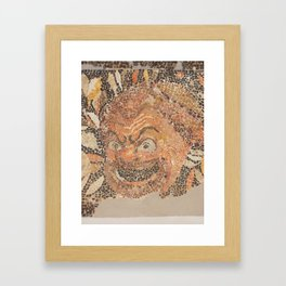 The Beast Framed Art Print