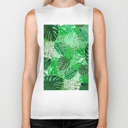 Emerald Jungle Biker Tank