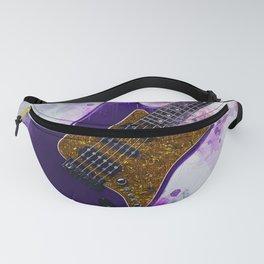 Electric Guitar Art Fanny Pack